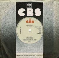 BOB DYLAN Baby Stop Crying Vinyl Record 7 Inch CBS 1978 Promo